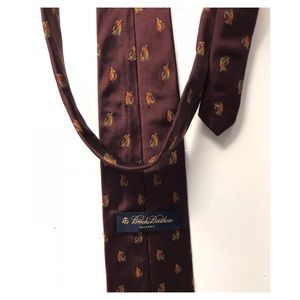 Brooks Brothers | Silk Tie Fisher Lier USA made!
